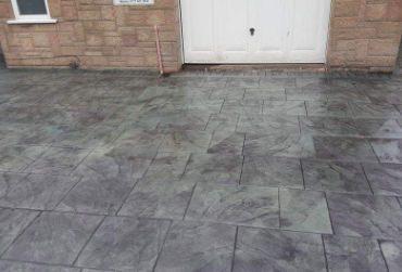 patterned imprint concrete